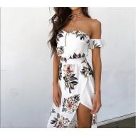 Vestido largo Floral Dama.