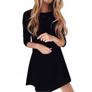 Vestido Mujer, negro,...