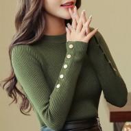 Suéter de mujer manga larga...