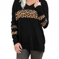 Suéter leopardo estampado...